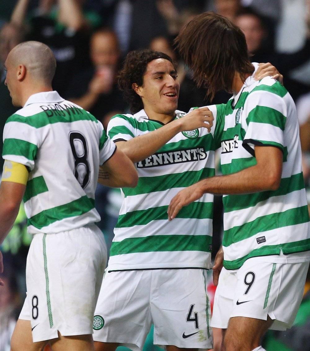Efraín Juárez: 1 Liga de Escocia con el Celtic en 2012. / Getty Images