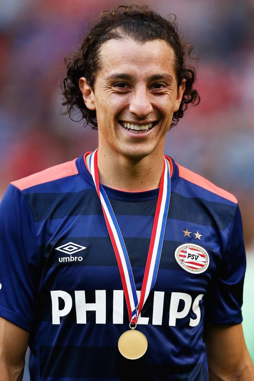 Andrés Guardado: 2 Ligas de Holanda con el PSV (2015 Y 2016) / Getty Images