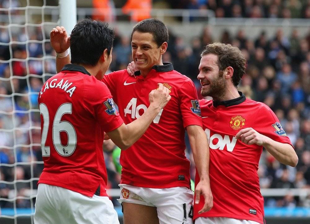 "Javier ""Chicharito"" Hernández: 2 Premier League con el Manchester United (2011 y 2013) / Getty Images"