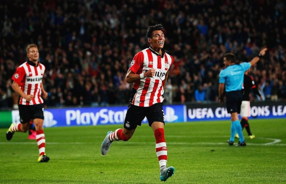 Héctor Moreno: 2 Ligas de Holanda, 1 con el AZ Alkmaar en 2009 y 1 con el PSV en 2016 / Getty Images