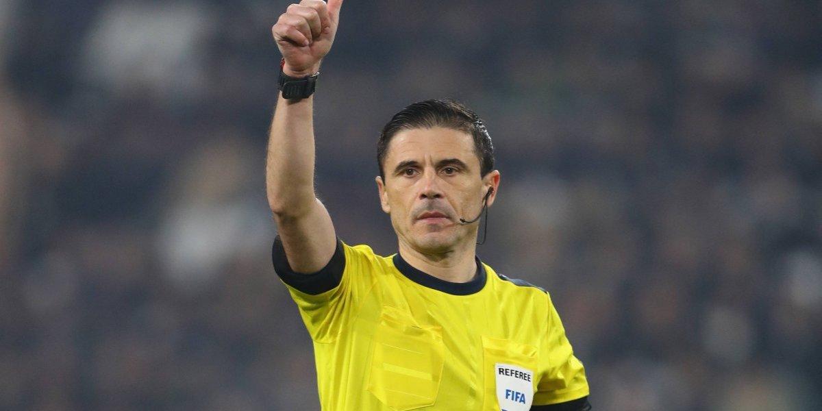 Eligen árbitro para la final de la Champions League
