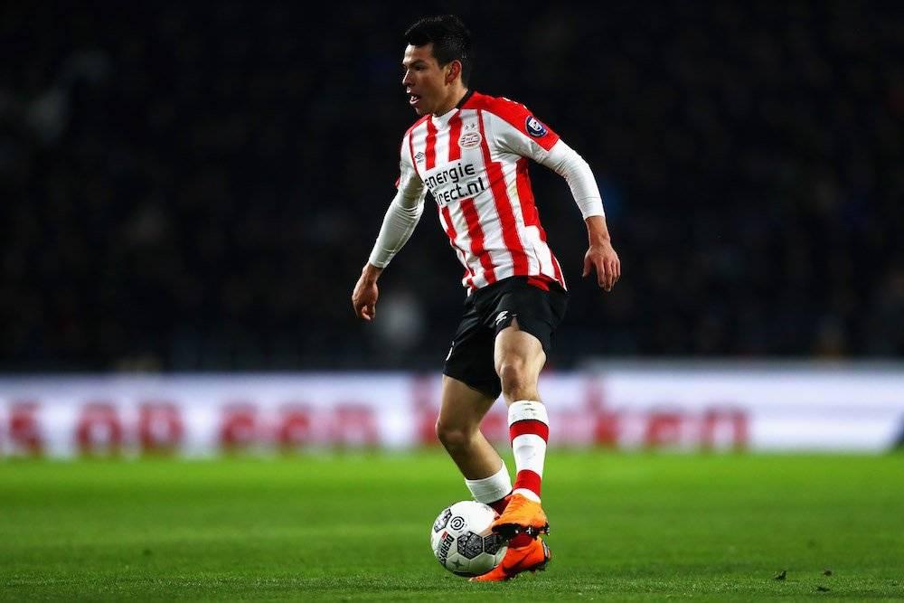 """Hirving """"Chucky"""" Lozano: 1 Liga de Holanda con el PSV en 2018 / Getty Images"""