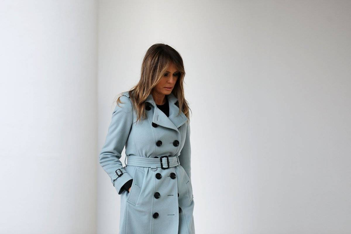 Melania Trump lanza iniciativa 'ser mejor' para niños