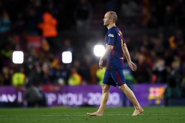 Andrés Iniesta se irá de Barcelona al término de la temporada / Foto: Getty Images