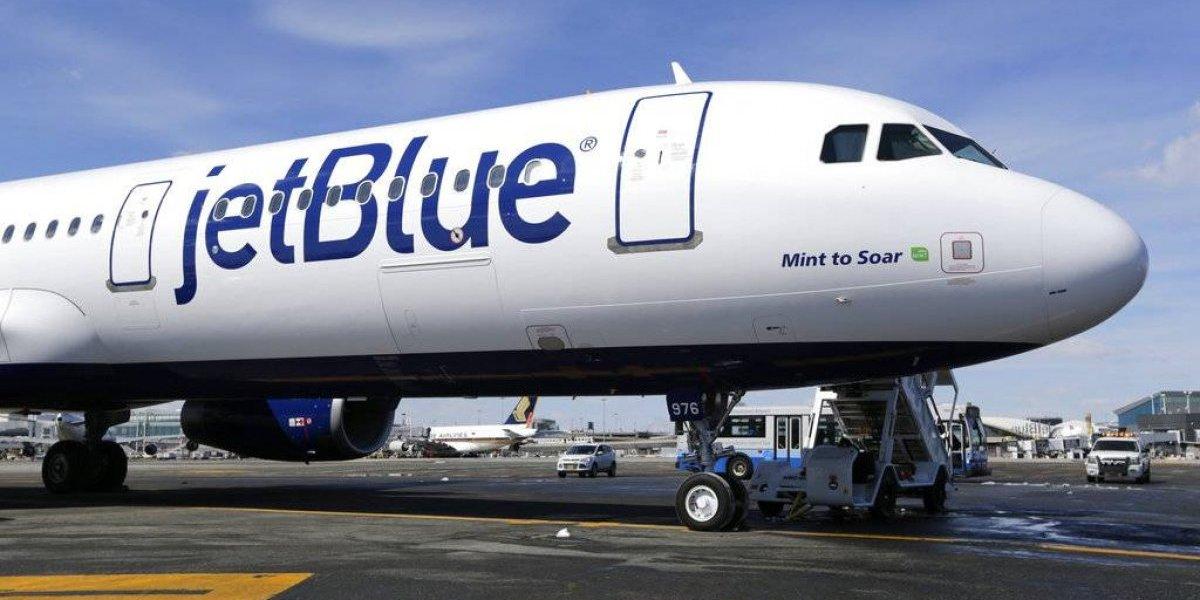 JetBlue aumenta cantidad de vuelos en la isla