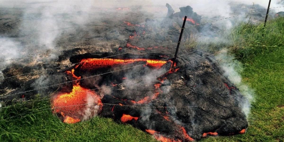 El time lapse que muestra el impresionante poder destructivo del volcán Kilauea en Hawaii