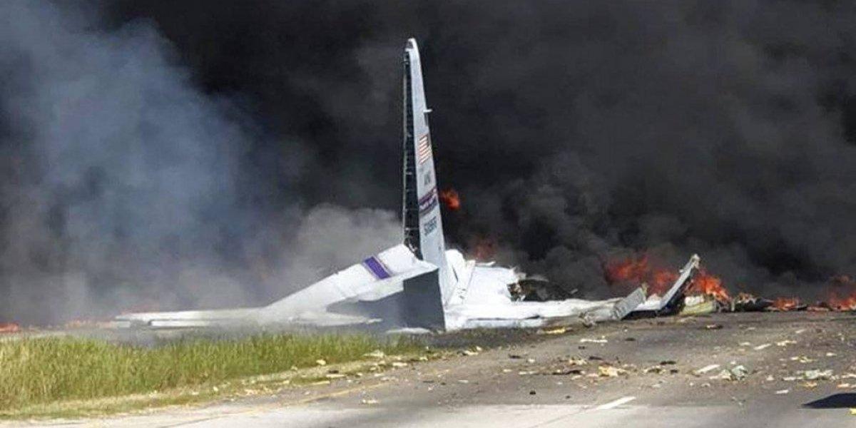Así fueron los reportes de las llamadas al 911 tras choque de avión militar