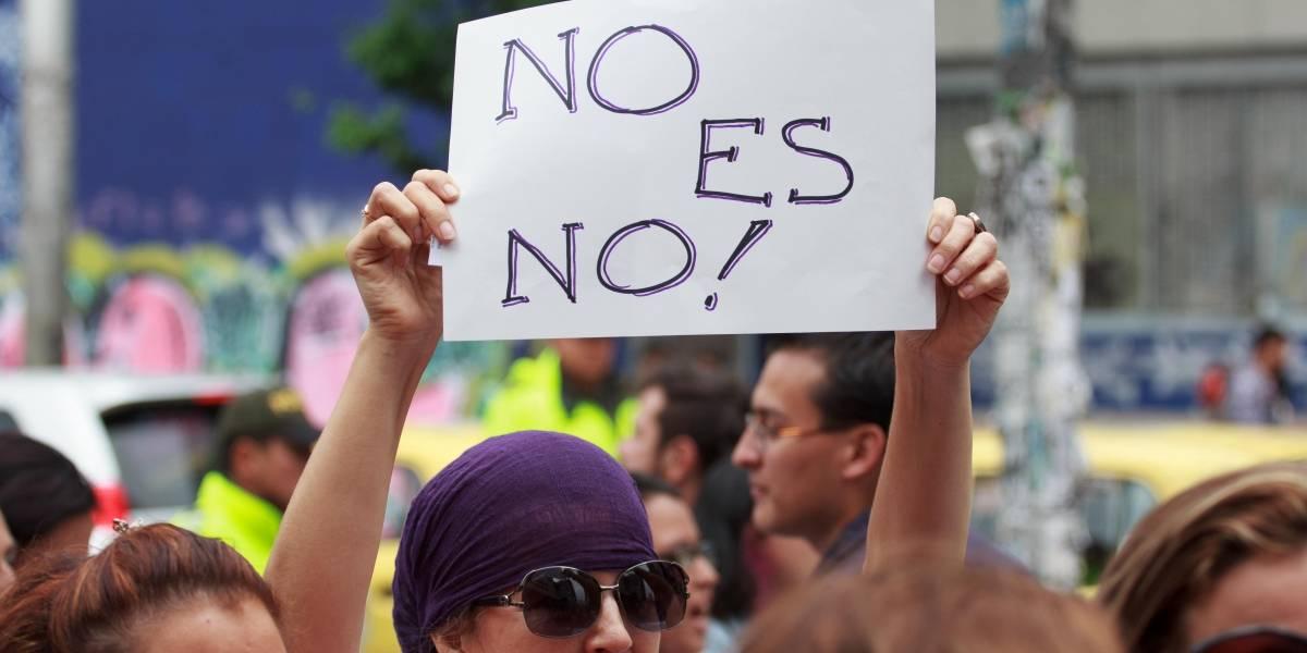 """El mensaje contra las """"feministas"""" que apareció en la universidad Nacional tras denuncias de acoso"""
