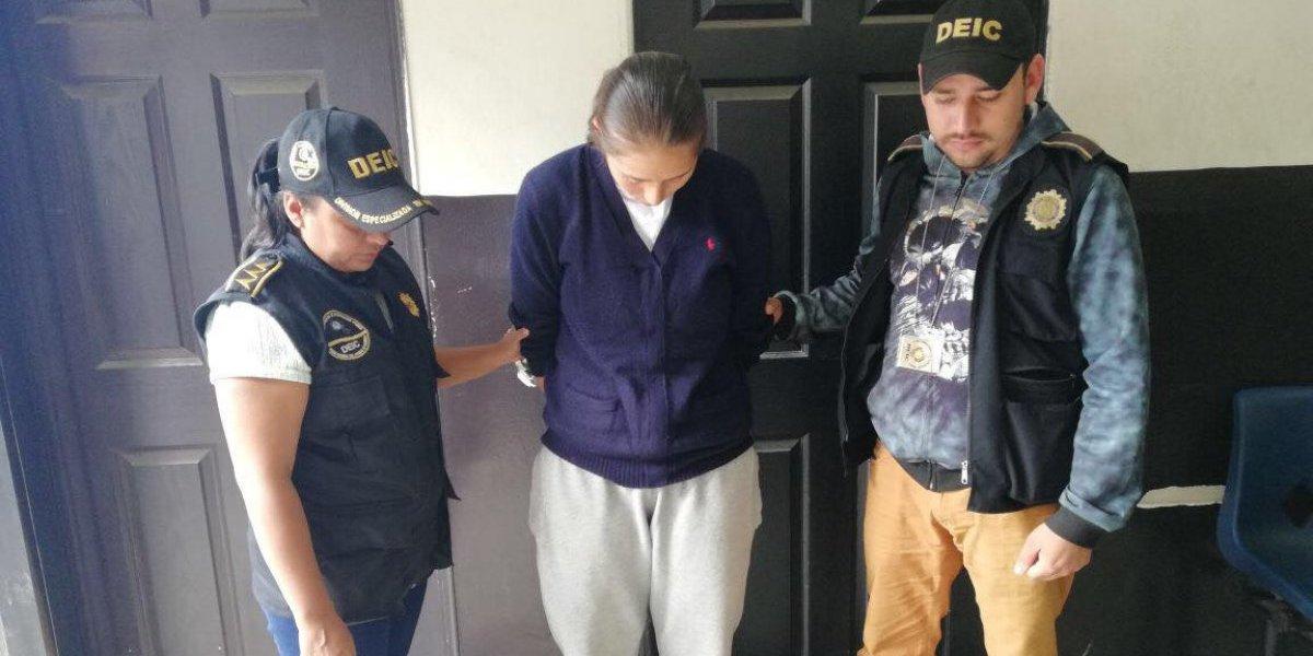 Capturan a alumna policía señalada de integrar estructura criminal