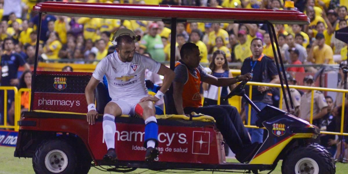 Copa Sudamericana: Hernán Barcos es duda para partido ante Guabirá