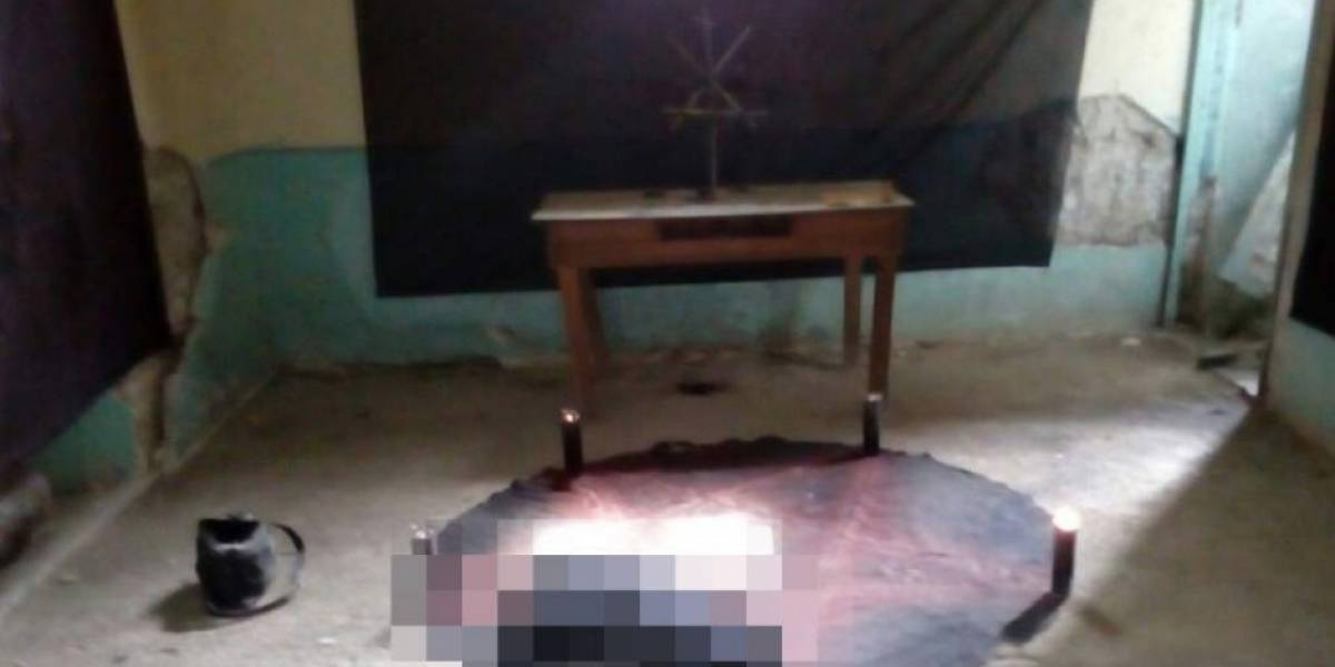 Identifican a mujer sacrificada en espeluznante rito satánico