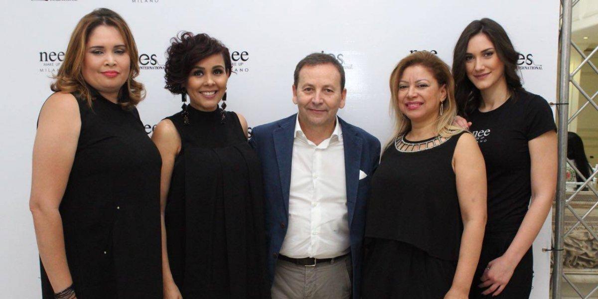 "#TeVimosEn: Muestran nueva línea de maquillaje profesional ""Nee Make Up Milano"""