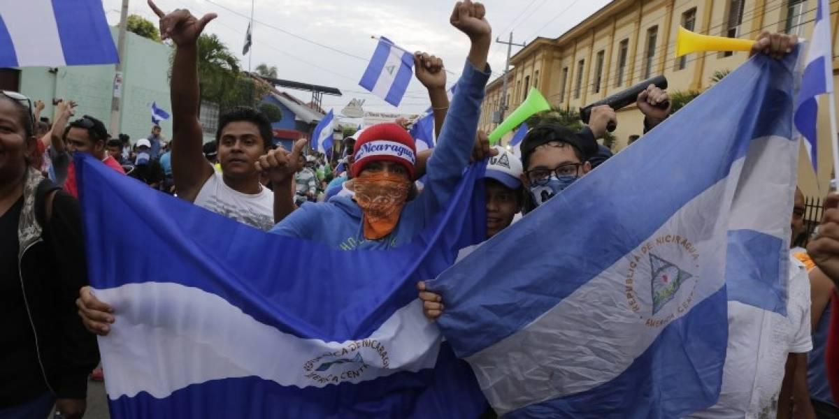 Nueva ola de protestas en Nicaragua deja al menos 4 heridos