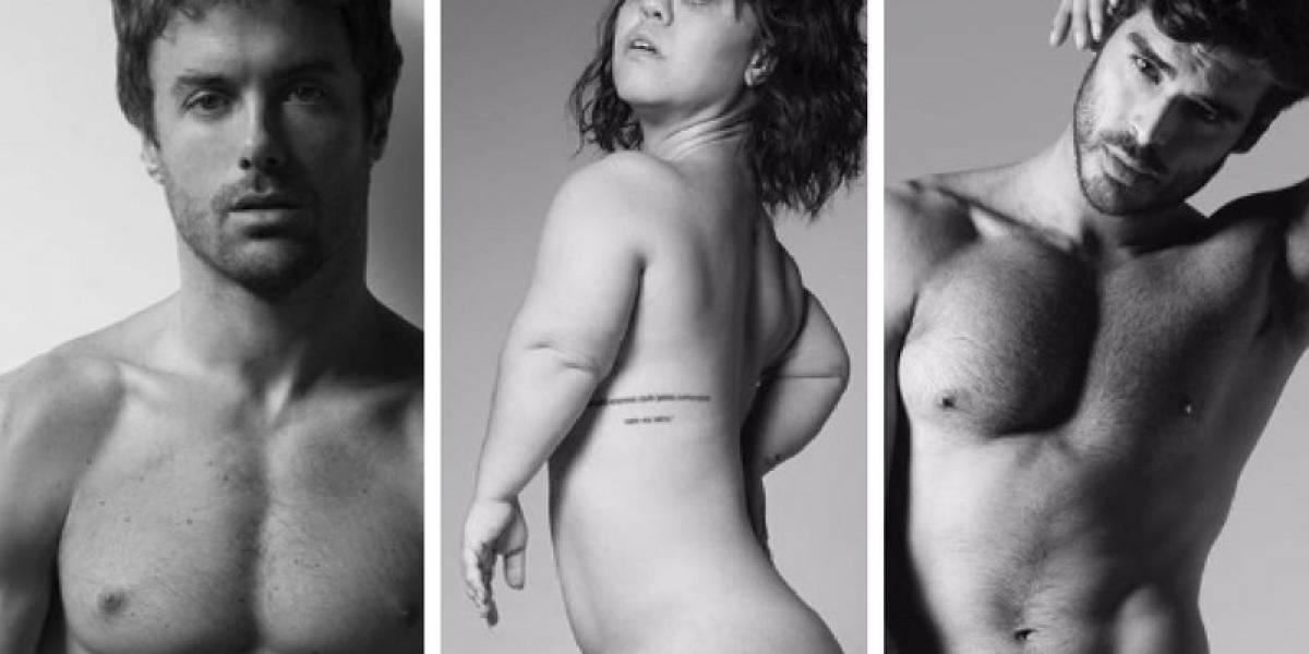 """Vários famosos nus no """"Pele Project""""; confira fotos"""