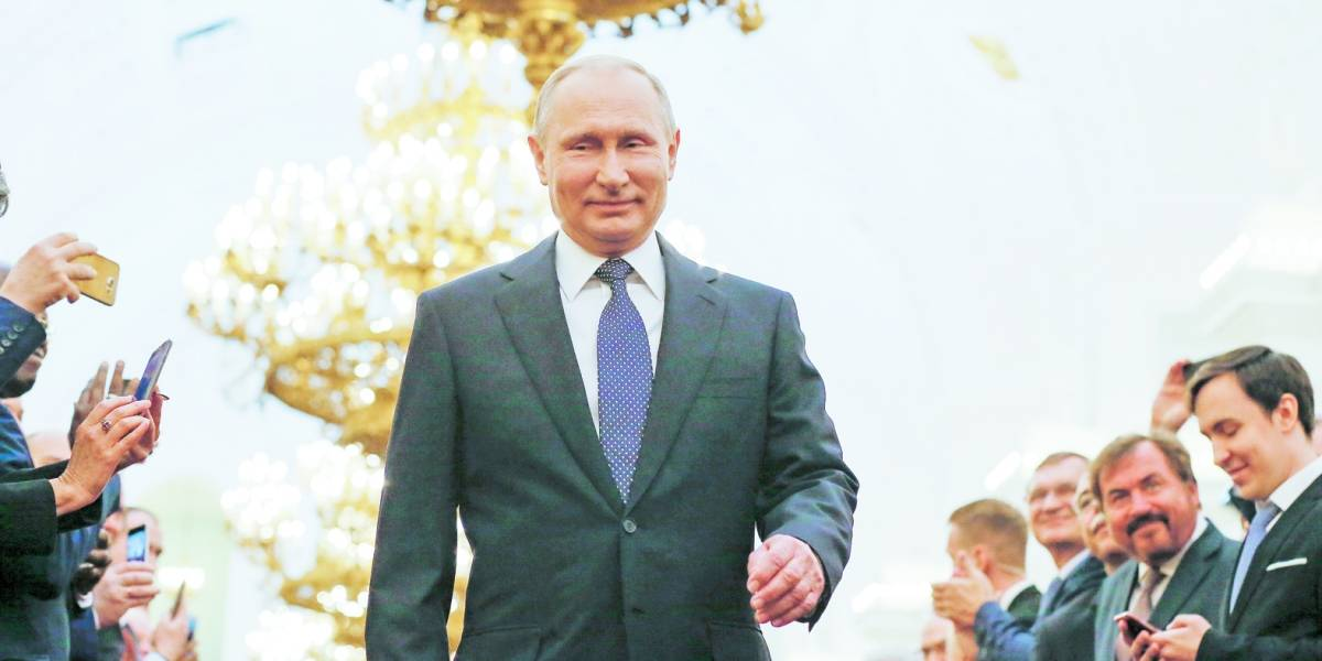 Putin para rato: presidente ruso asume su cuarto mandato