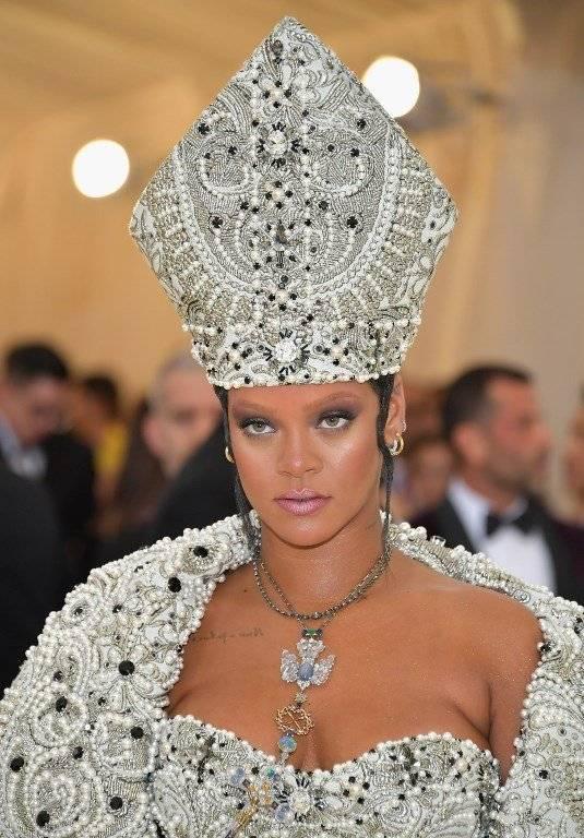 Rihanna Met Gala 2018 Foto: AFP