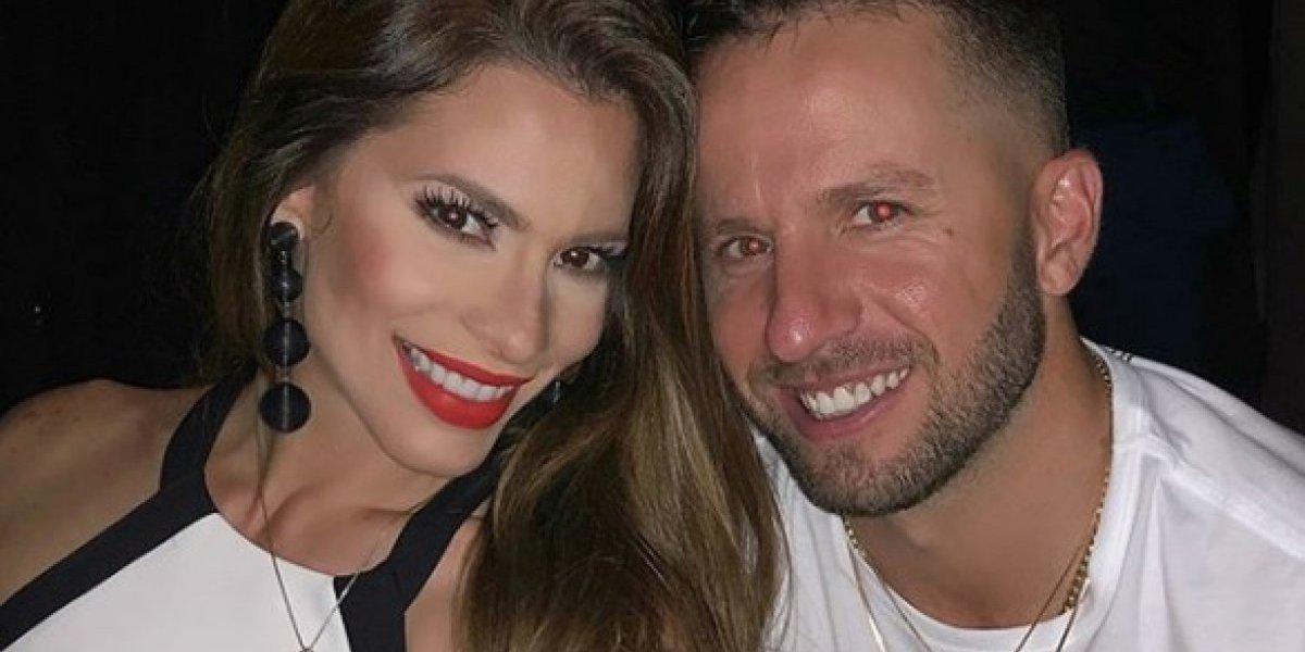 Barea y Viviana se disfrutan concierto de Bad Bunny