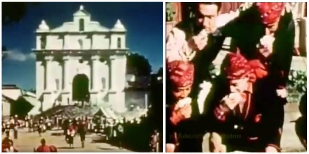 VIDEO. El día que Walt Disney visitó Chichicastenango en busca de inspiración