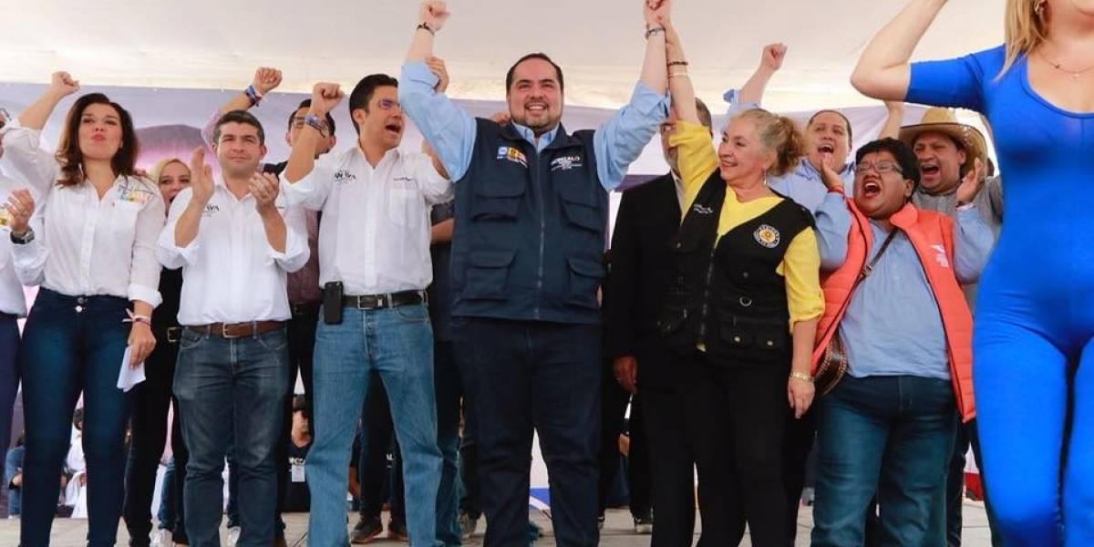 """Despertó 'El Gallo Azul"""" en Cuajimalpa, advierte Gonzalo Espina"""