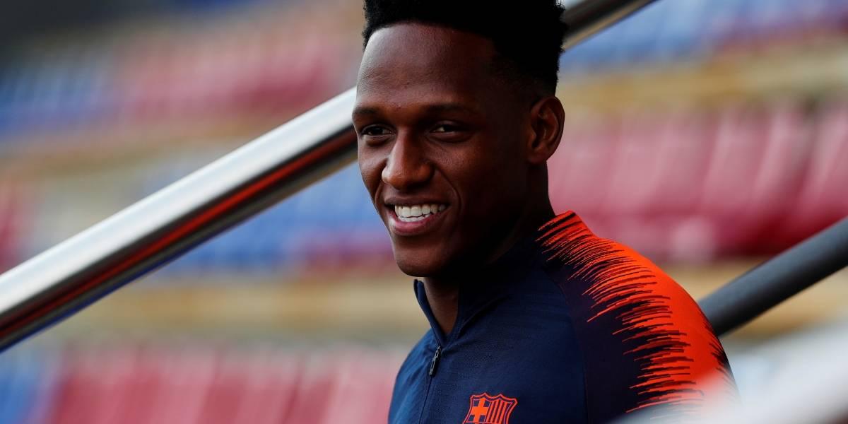 Se abren las puertas para que Yerry Mina sea titular con el Barcelona