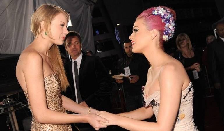 Taylor y Katy.