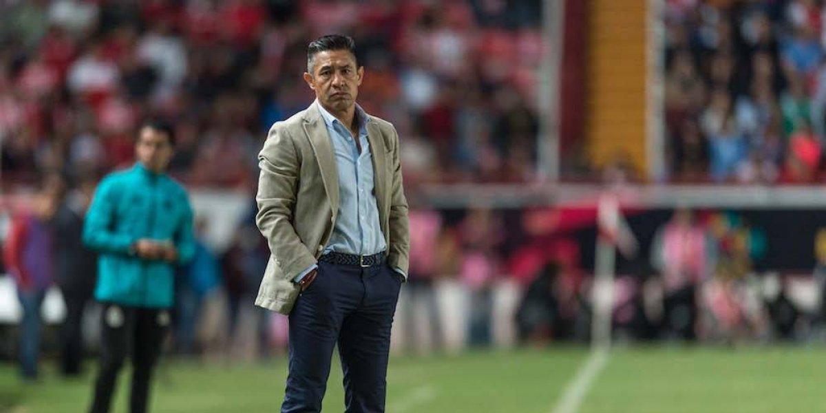 Ignacio Ambriz deja de ser técnico del Necaxa