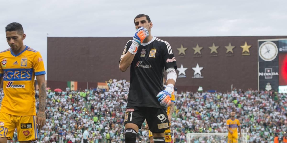 Podría Nahuel Guzmán quedarse sin boleto a Rusia