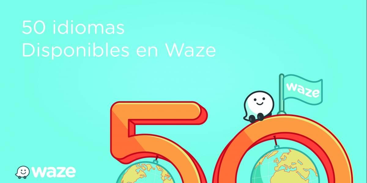 Waze ya está disponible en más de 50 idiomas diferentes