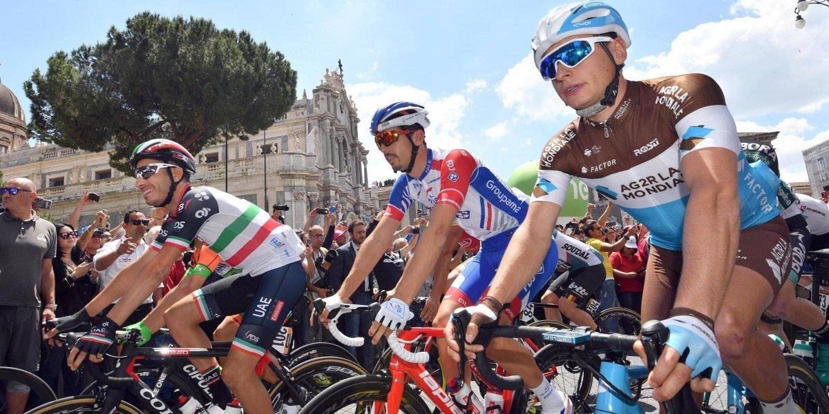Día de sprinters en el Giro: los colombianos esperan al Zoncolan