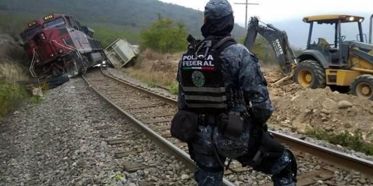 Descarrila tren en Veracruz por robo de vías