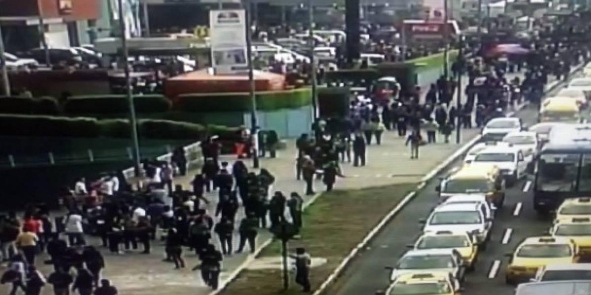 Evacuaron El Recreo por falsa alarma de artefacto explosivo