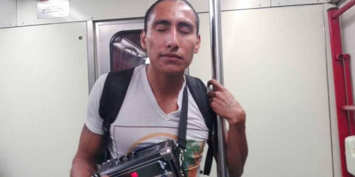 Atleta mexicano con debilidad visual fue agredido en el metro de CDMX