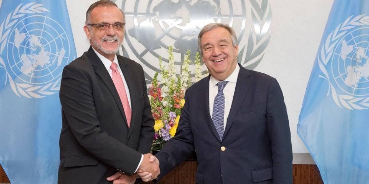 Secretario general de la ONU reitera respaldo a la CICIG y a Velásquez