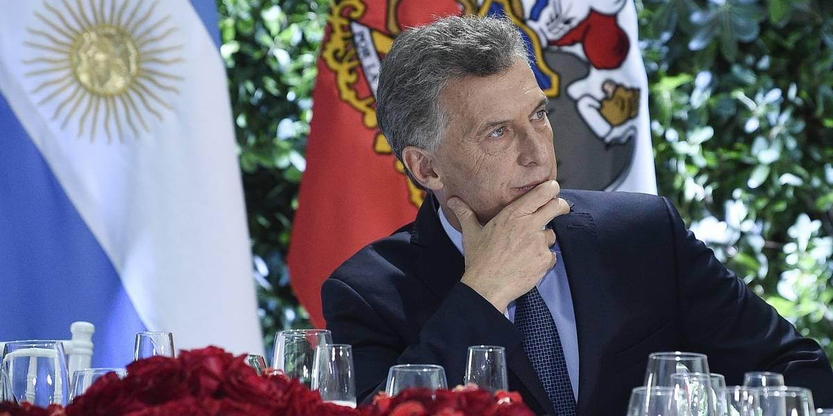 Macri habla con Trump sobre crisis de Argentina