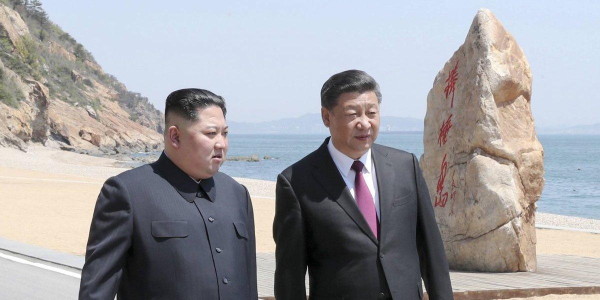 Kim Jong-un se reúne con presidente de China para evaluar los progresos diplomáticos