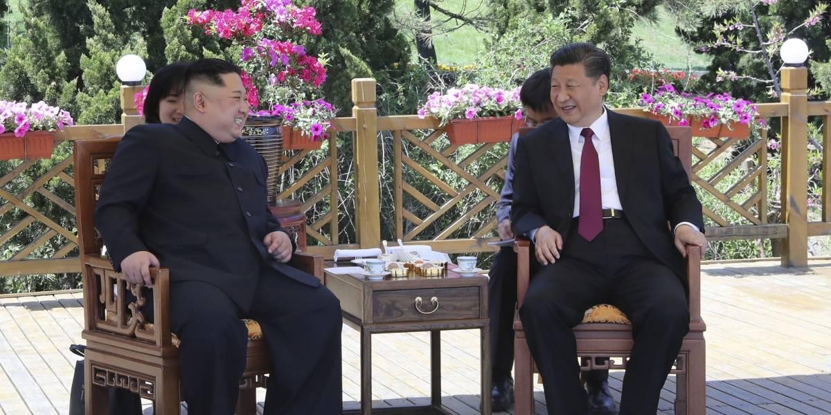 """""""Le quedaron gustando los viajes"""": Kim Jong-un y Xi Jinping realizaron una reunión secreta en China"""
