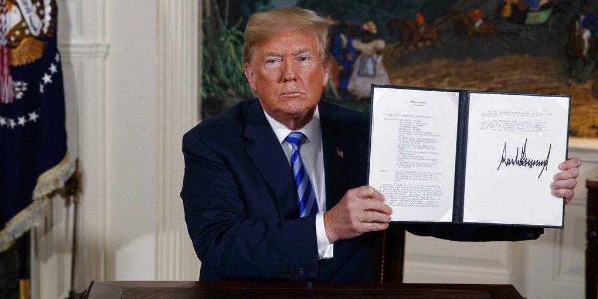 Enfrentados ante decisión de Trump de retirar a EE. UU. de acuerdo nuclear con Irán
