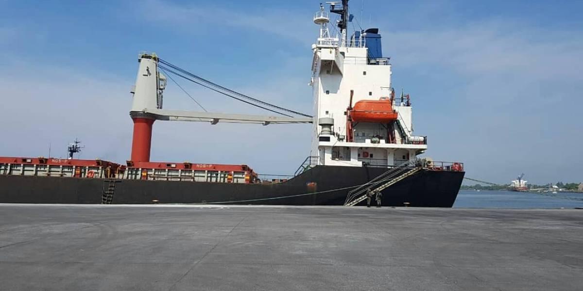 Autoridades de Guatemala y EE.UU. localizan posible mercancía ilícita en un buque