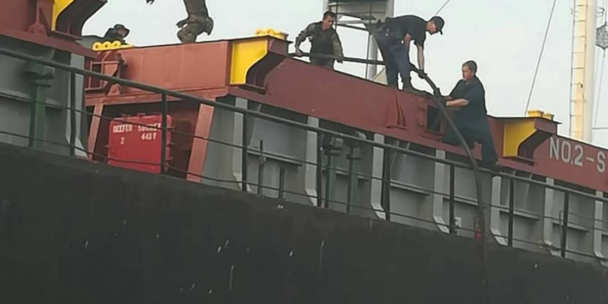 EE.UU. y Guatemala decomisan tres toneladas de cocaína en buque de Tanzania