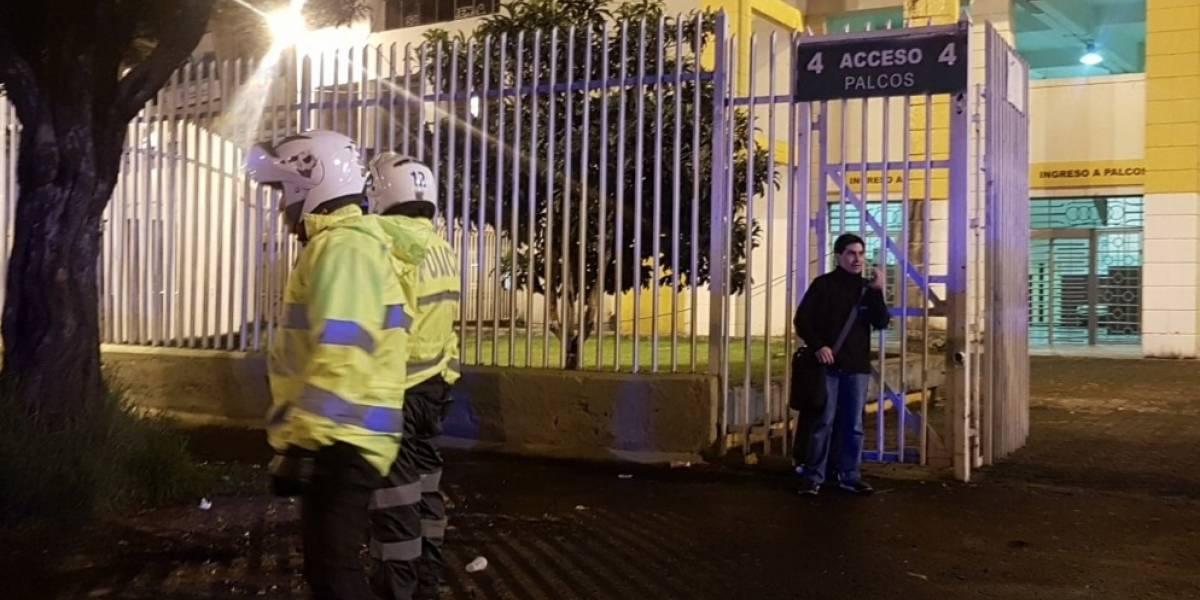 Quito: Se reporta una amenaza de bomba en el Estadio Olímpico Atahualpa