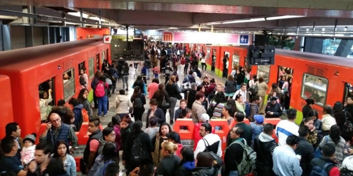 Retraso en la Línea 3 del Metro causa molestia en usuarios