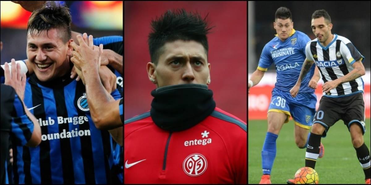 Escasa continuidad, tres equipos y varias lesiones: el turbulento primer paso por Europa de Nicolás Castillo