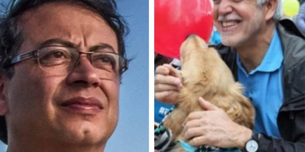 """Polémica en redes por trino de Petro en el que llama """"hipócrita"""" a Peñalosa"""