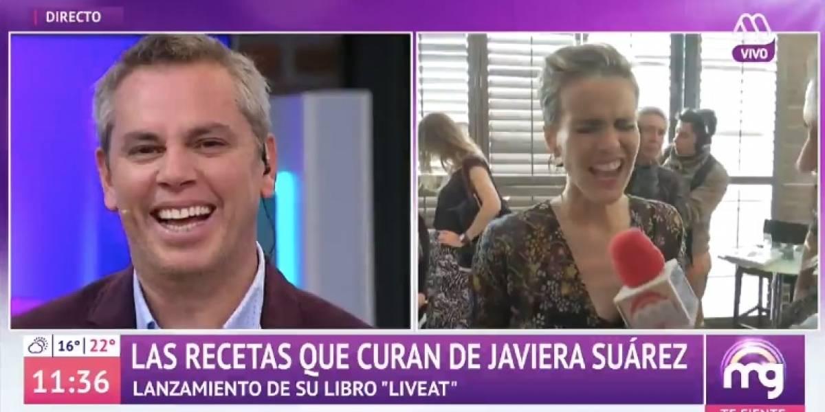 """""""Hola Tonka linda, hola Martín"""": El chascarro de Javiera Suárez que sacó risas en """"Mucho Gusto"""""""