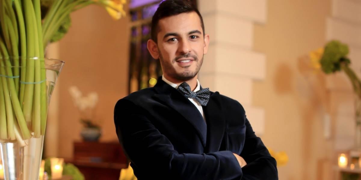 Andrés Barrientos el colombiano que hace magia en las bodas con su toque de decoración