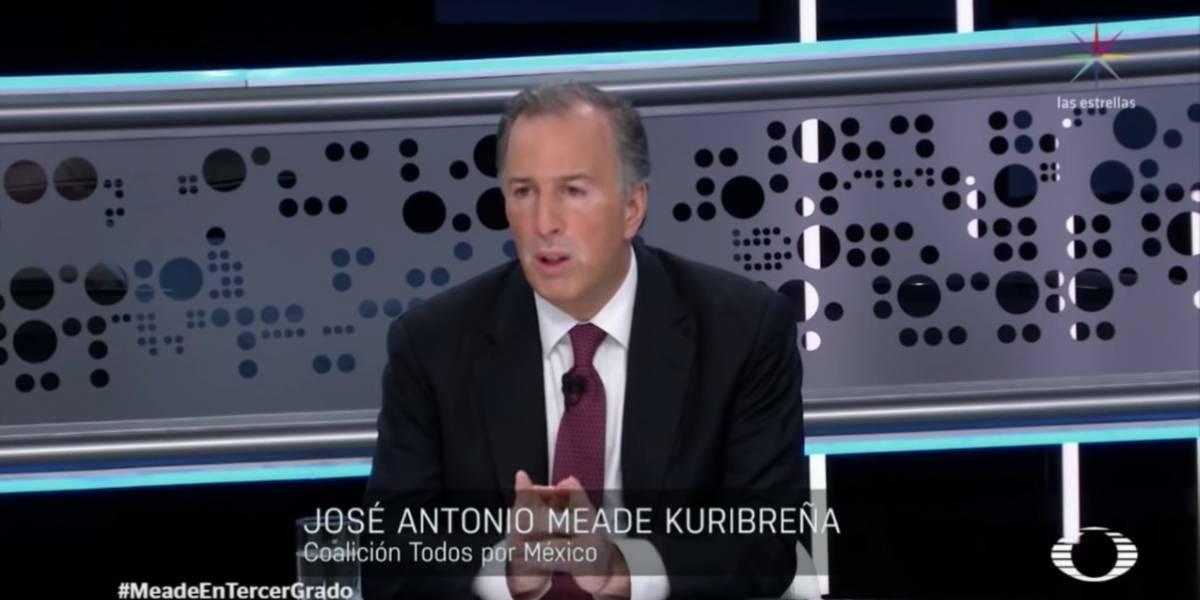 Las frases que marcaron la participación de José Antonio Meade en Tercer Grado