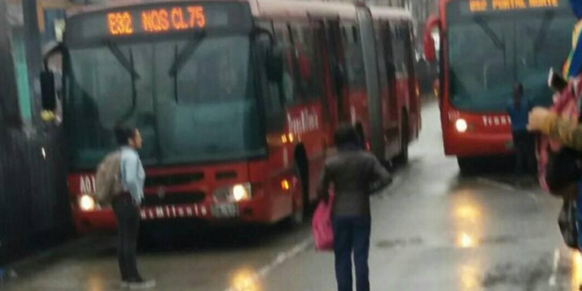 ¡Atención! Bloqueos y protestas en TransMilenio por falta de buses a esta hora