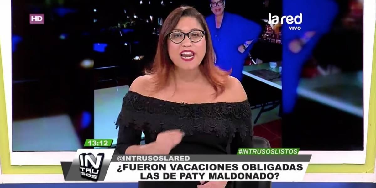 """""""Ni siquiera se le obliga a pedir disculpas"""": Alejandra Valle cuestionó a Mega por """"avalar"""" a Patricia Maldonado"""