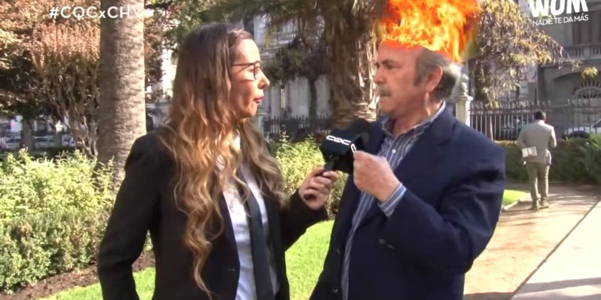 """""""¡Tú estás suponiendo que es verdad, y es mentira!"""": La molestia de actor de TVN con """"CQC"""" tras preguntas sobre Herval Abreu"""
