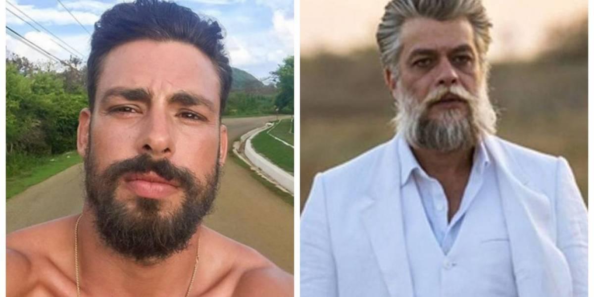 Cauã Reymond elogia Fábio Assunção: 'Ídolo, um cara do bem'